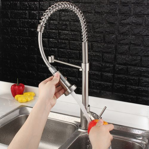 Single Handle Faucet Sprayer Kitchen Sink Tap