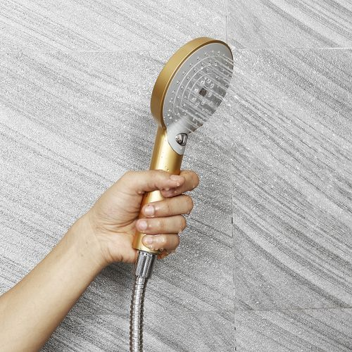 Round 3 Mode Handheld Bathroom Bath Shower Head