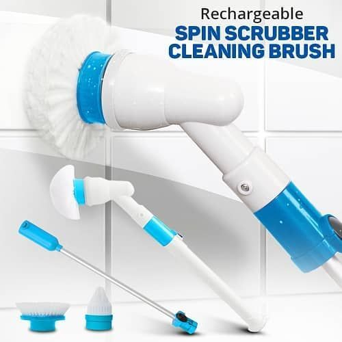 Rechargeable Spin Scrubber