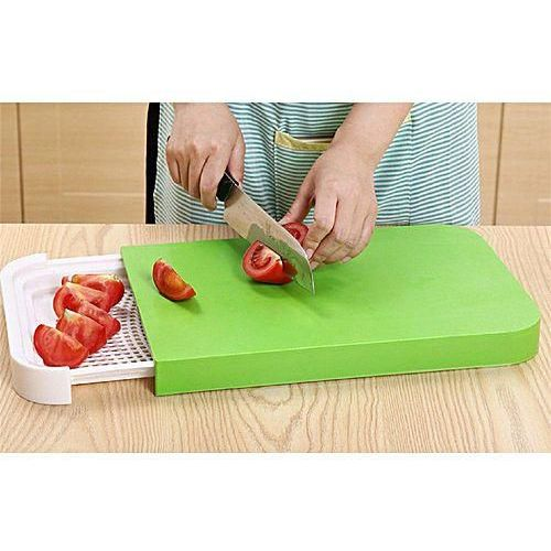 Multi Functional Sliding Chopping Board