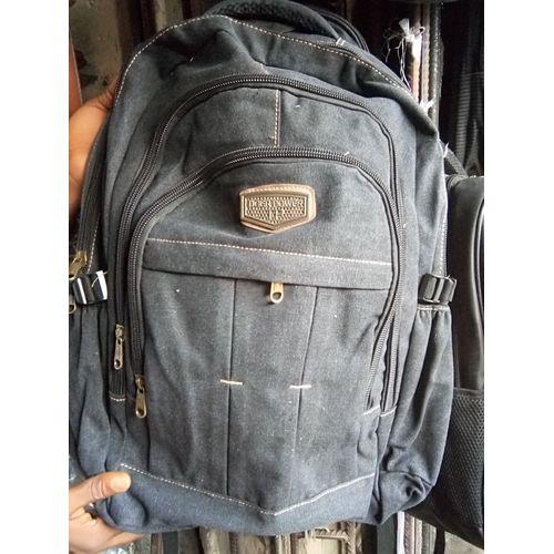 Kakki Rugged Travellers' Laptop & School Bag- Black