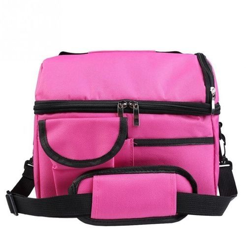 Double Thicken Heat Preservation Insulation Lunch Bag/Travel Pack-Pink