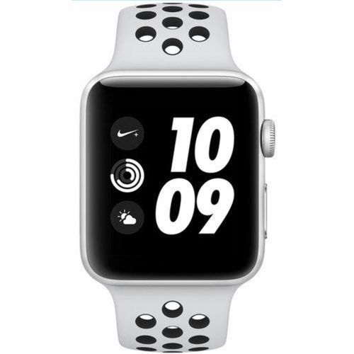 Iwatch Series 4 40mm GPS +CELLULAR Silver Aluminum,BLACK Nike Plus Edition