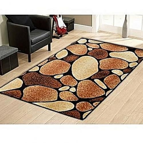 Decorative Stone Center Rug 3ft X 5ft