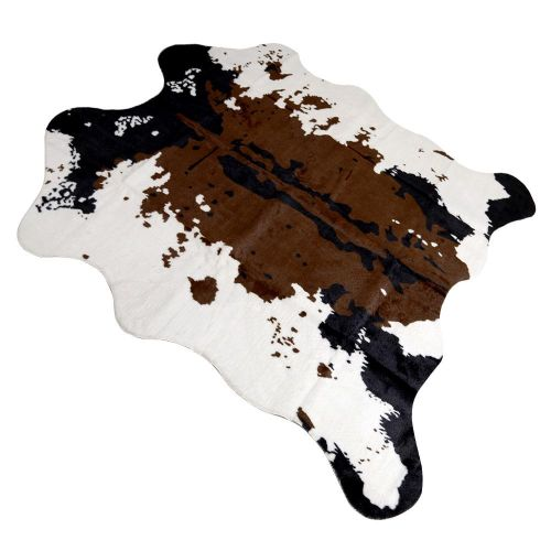 Area Rug,Faux Fur Cow Rug Area Rug Carpet Throw Rugs
