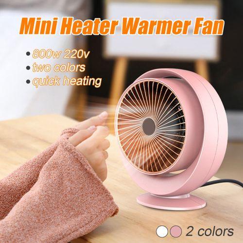 220V 800W Portable Mini Electric Heater Winter Warm Home Office Desktop