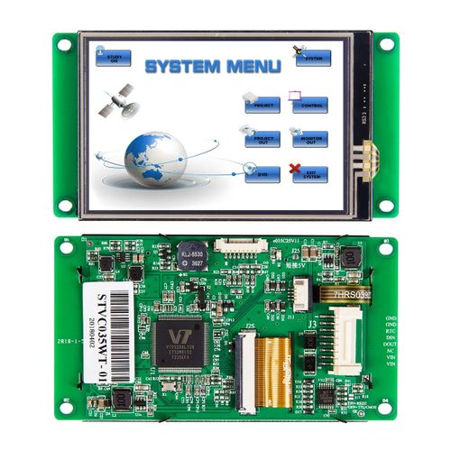 "STONE 3.5"" Intelligent TFT LCD Display With RS232/RS485/TTL"