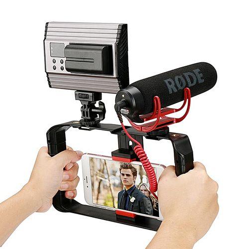 Phone Video Stabilizer Handheld Smartphone Filmmaking Cage