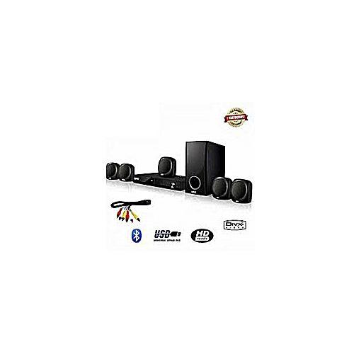 Bluetooth Home Theatre With Satellite Speaker - LG AUD 358- Black