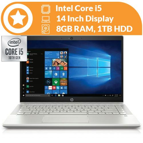 "Pavilion 14 10th Gen Intel Core I5-, 8gb, 1tb, 14"",Backlit Keyboard Win 10 Home"