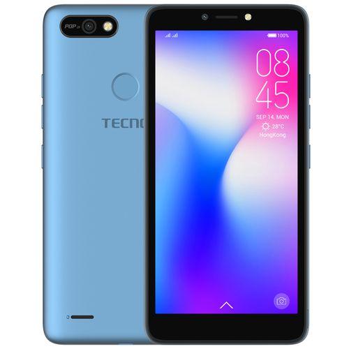"POP 2F (B1F) 5.5"" Android 8.1, 16GB ROM + 1GB RAM, 8+5MP Beauty Camera, Fingerprint, Face ID, 2400mAh Battery - Blue"