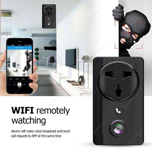 360eyes Motion Recording Wireless Wi-Fi Smart Socket Camera