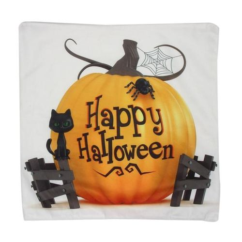 Halloween Pillow Case Sofa Waist Throw Cushion Cover Home Decor L