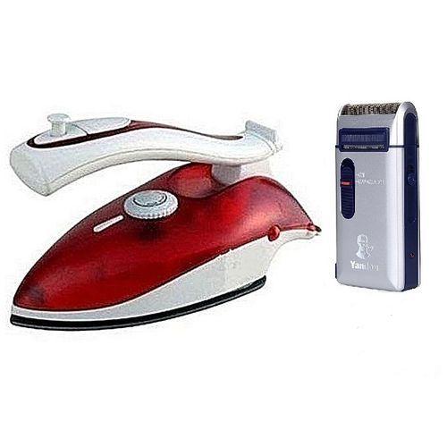 Travel Iron (Generator Iron) & Yandou Rechargeable Shaver