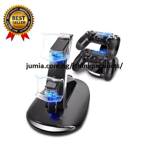 PS4 Controller Charger Dual USB Charging Station Dock Controller Charger