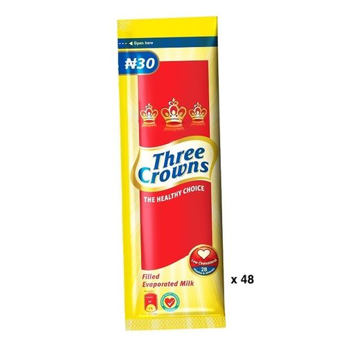 Three Crowns Evaporated Milk 30g X 48
