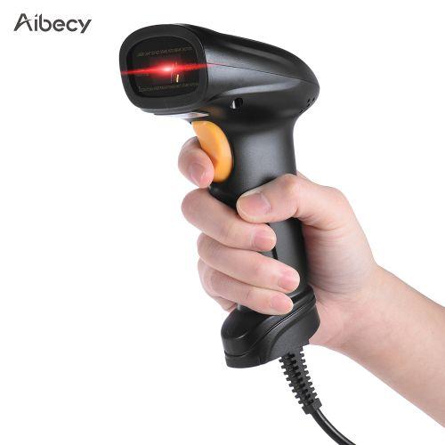 Aibecy Handheld 1D USB Barcode Scanner Bar Code Reader