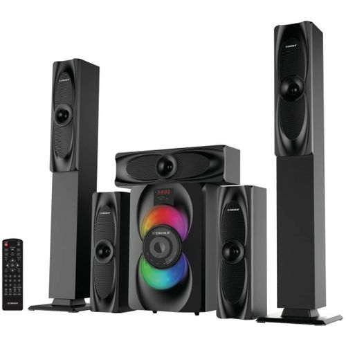 EMGOLD BLUETOOTH HOME THEATRE SYSTEM WITH 360 DEGREE SOUND