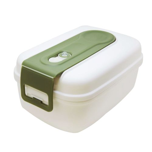 660 ML Leakproof PP Silicone Food Storage Container With-