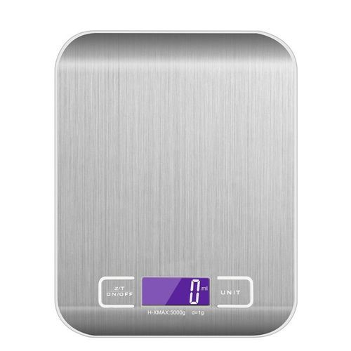 Digital Electronic Kitchen Scale, Food Scale, Digital Weighing Scale 11 Lb 5 Kg Kitchen Measuring Tools Scale