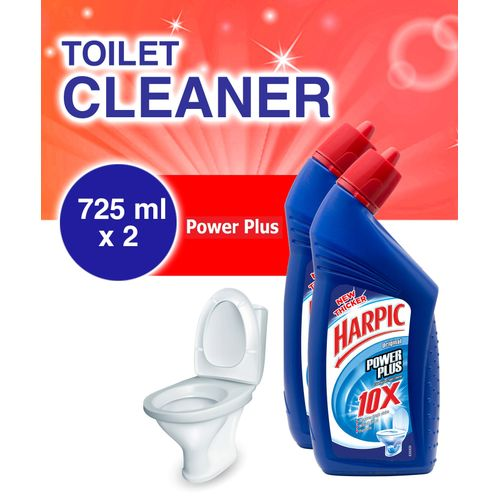 Toilet Cleaner: Power Plus 725ml - Pack Of 2