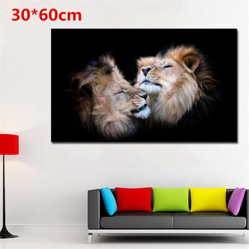 Unframed Horse/Lion/Tiger/Cattle Modern Art Canvas Painting Home Wall Room Decor