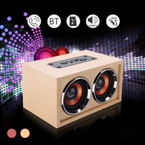 Heavy Bass Dual Speaker Audio Player Wireless Bluetooth Loudspeaker Subwoofer US