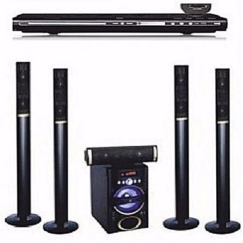 5.1ch Tallboy Speakers Bluetooth Home Theater+ A DVD Player Attached Dp-5030m