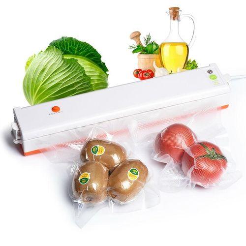 Food Packaging Machine Home Automatic Sealing Machine Small Vacuum Packaging Machine Tea Plastic Machine # 220V EU