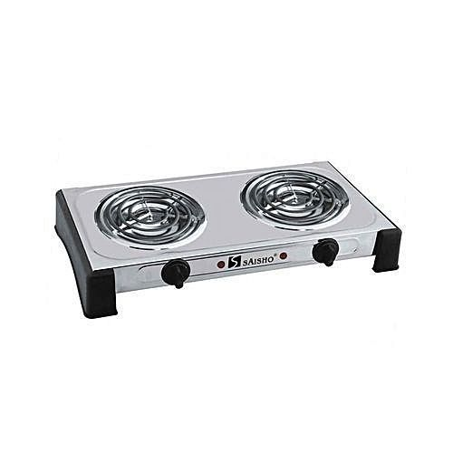 Double Burner Ring Electric Hot Plate