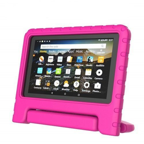 Fire HD 8 Inches 2GB RAM/16GB Storage Educational Kids Tablet + Proof Case -Pink