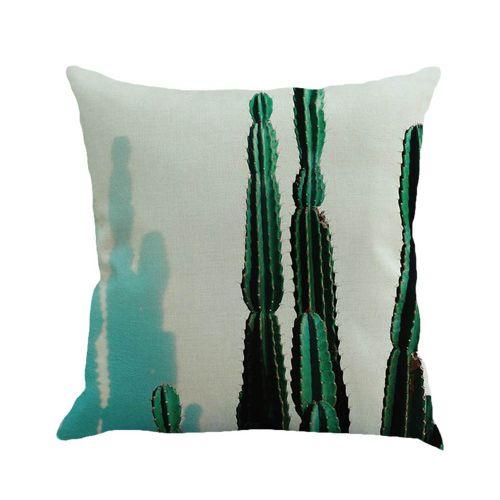 Whiskyky Store European Home Decor 45*45cm Cotton Linen Cushion Cover Throw Pillow Case B-Multicolor