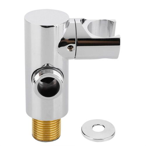 G1/2in Adjustable Wall Mount Handheld Shower Spray Head Holder Bracket Bathroom