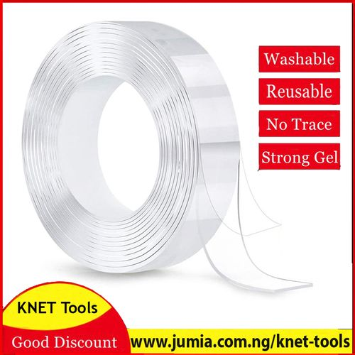 Extra Strong Double Sided Nano Reuseable Magic Adhesive Tape