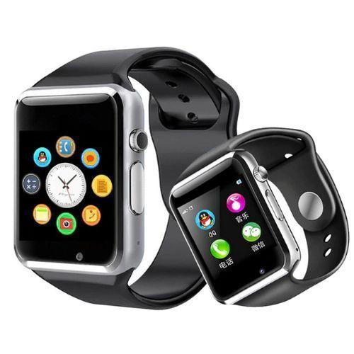 Smart Watch +Single Sim, Bluetooth, Memory Card & Camera