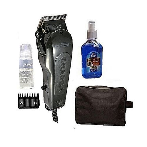 Professional Hair Clipper (Bag & Aftershave) Barbing Set