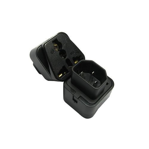 UPS Power Adapter C14 Male To C13 Universal Female AU/US/UK/EU PDU/UPS