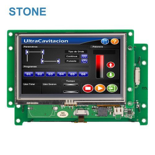 "Smart 4.3""LCD Module With Embedded System&Sofeware"