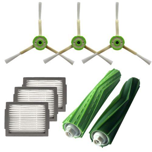 Side Brush&Hepa Filters&Bristle Brush IRobot Roomba I7 I7+/i7 Plus E5 E6 E7
