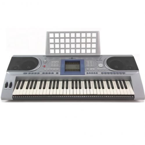 Professional 61 Keys Keyboard With Adaptor And Keyboard Stand