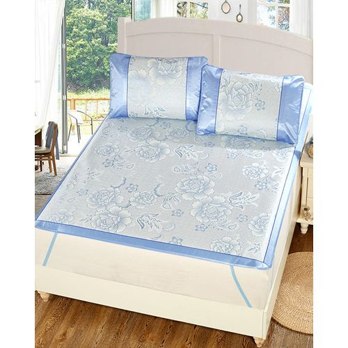 Jacquard Ice Summer Sleeping Mattress Cover Foldable Pad