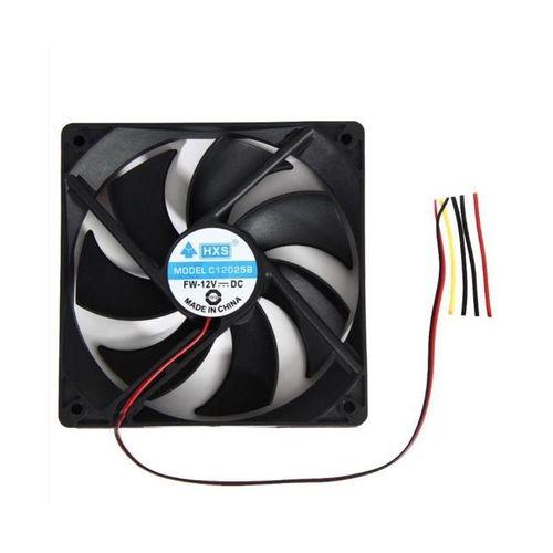 1pcs 120mm 12V 4Pin Computer Case Cooling Fan 1800PRM