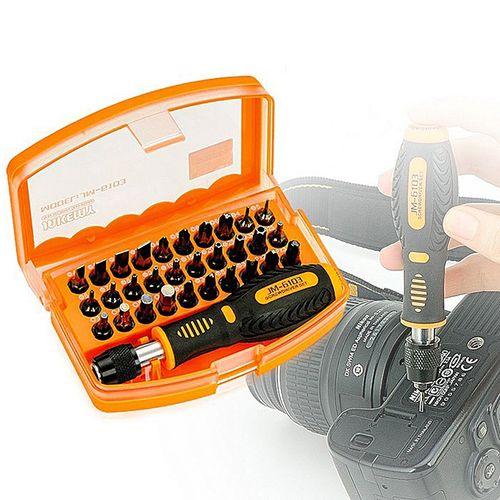 JAKEMY JM-6104 31 In 1 Screwdriver Set Disassembled Tool JM-6104 - Black