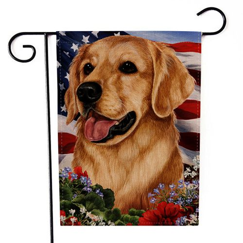Dtrestocy Happy Independence Day Garden Flag Indoor Outdoor Home Decor Printing Flag