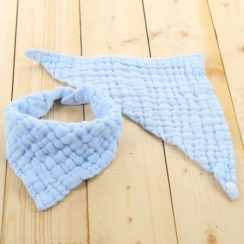 New Infants Cotton Waterproof Bib Baby Triangle Bibs Saliva Towel