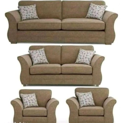 Fresh Tower Styled Sofa + Free Ottoman(DELIVERY WITHIN LAGOS)