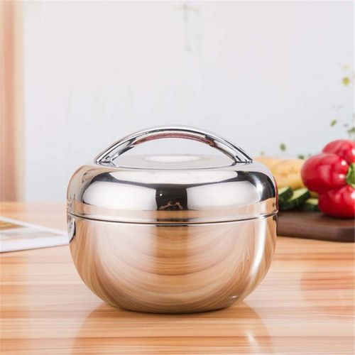 1L Thermos Food Container Double Layer Stainless Steel Lunch Picnic Box
