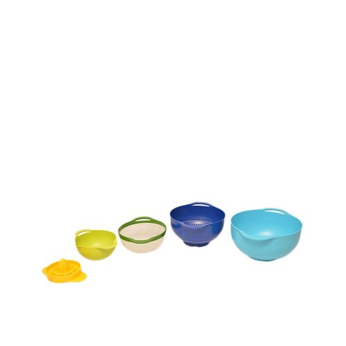 5 Piece Multi Colored Mixing Bowl Set