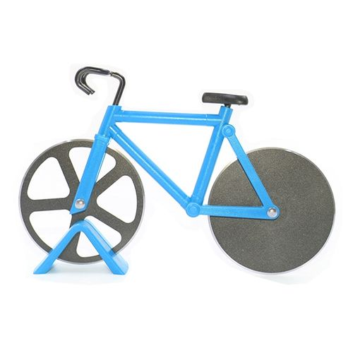 Bicycle Shape Pizza Cutter(Blue)