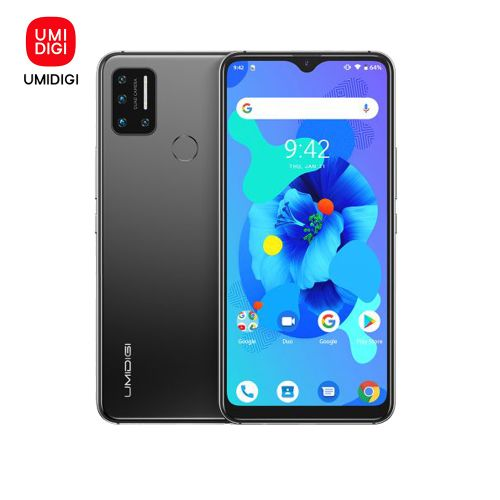 A7 (4GB ,64GB ROM) 6.49''Full Screen Android 10 (16MP+8MP+5MP+5MP)+16MP 4150mAh Global Band Dual 4G Triple Slots-Grey